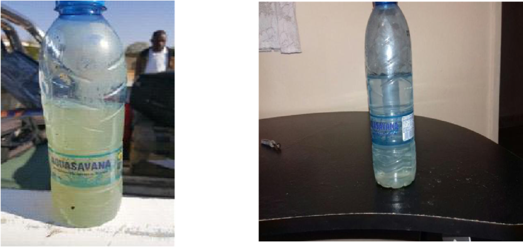 before and after pure drop